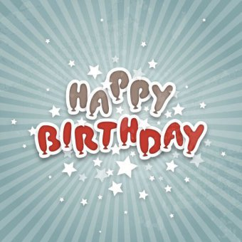 Happy Birthday Vector Free Download At Getdrawings Com
