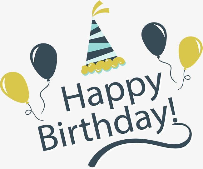 650x541 Vintage Happy Birthday Happy Card, Vector Png, Happy Birthday