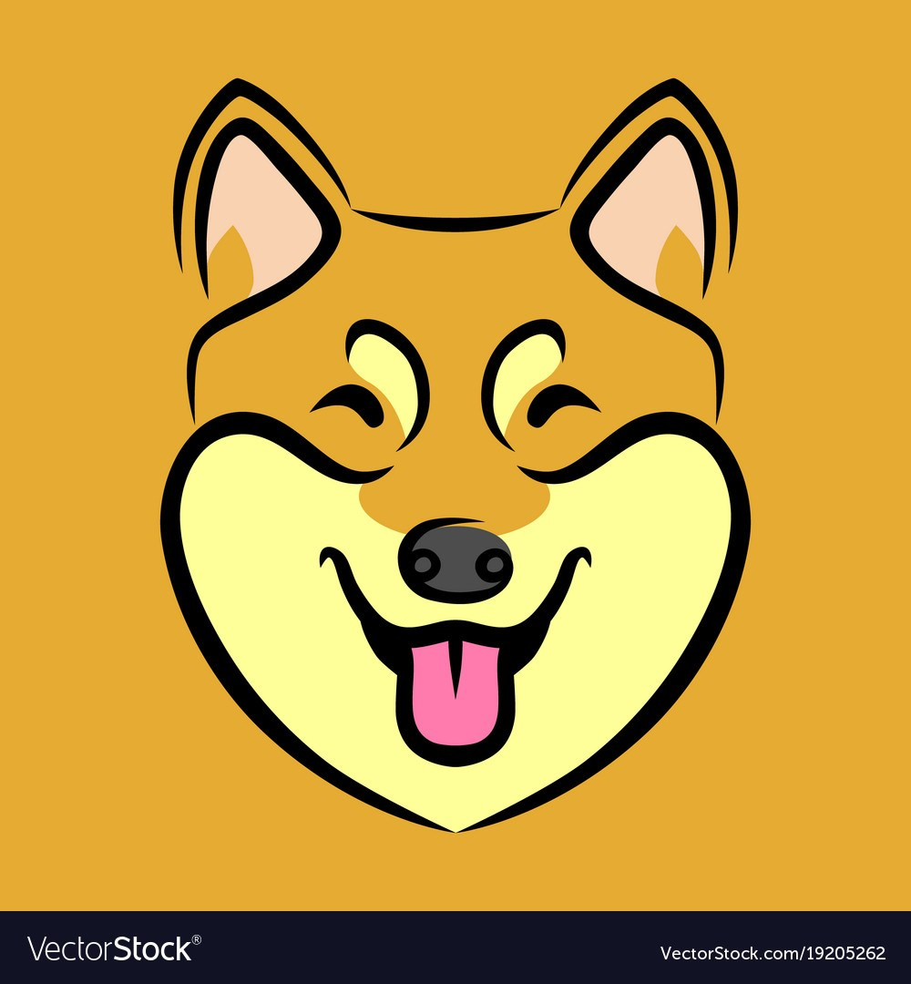1000x1080 Encouragement Happy Dog Face Vector Image Happy Dog Face Royalty
