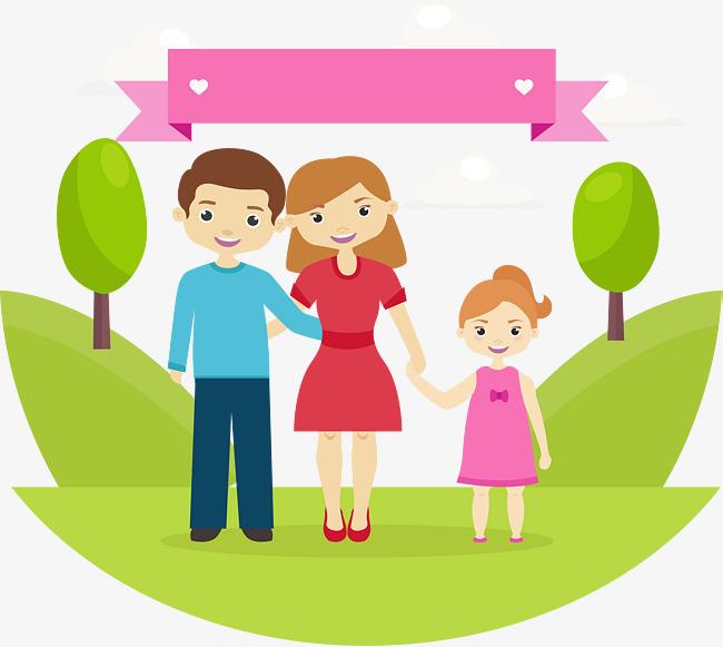 650x581 Suburbs Happy Family Of Three Family, Family Vector, International