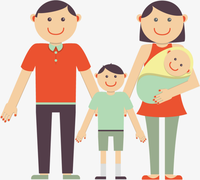 650x584 Vector Happy Family, Family Vector, Family Clipart, Vector Png And