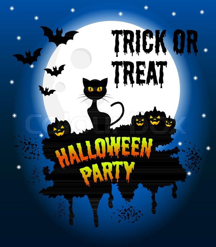 700x800 Happy Halloween Vector Poster, Halloween Banner, Halloween