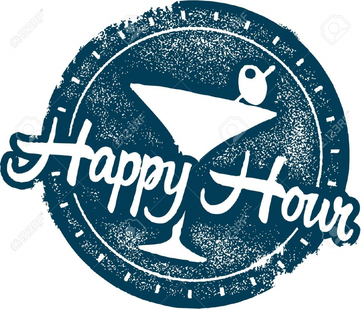 1259x1080 20341467 Happy Hour Cocktail Bar Stamp Stock Vector League Of