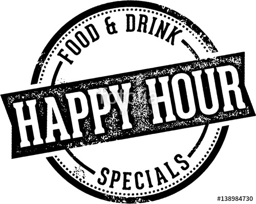 500x399 Happy Hour Bar Specials Stock Image And Royalty Free Vector Files