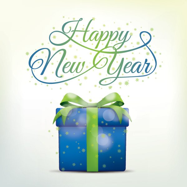 600x600 Happy New Year 2016 Vector, Free Psd Files Of 1st January