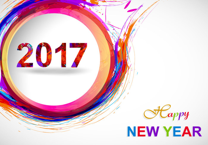 700x490 New Year Image Vector 2017