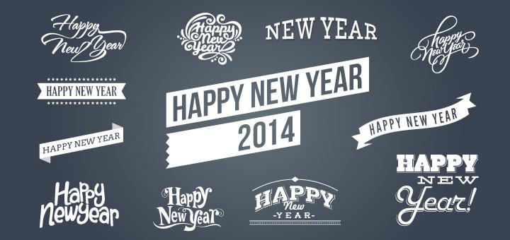 720x340 Free Happy New Year 2014 Vectors Psd Files, Vectors Amp Graphics