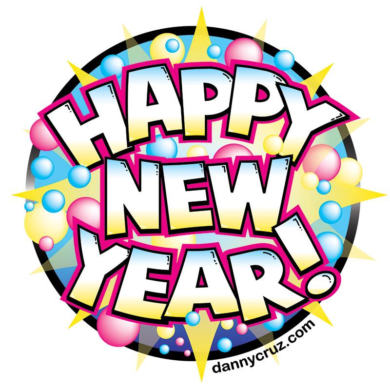 800x800 Free Vector Art Happy New Year Royalty Free