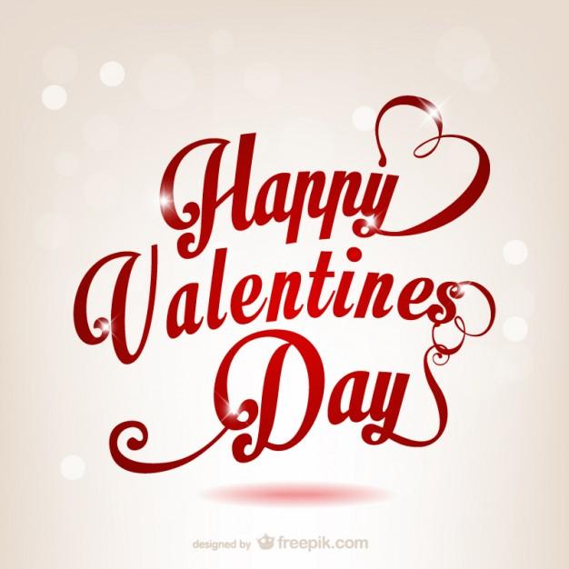 626x626 Happy Valentines Day Vector Free Download