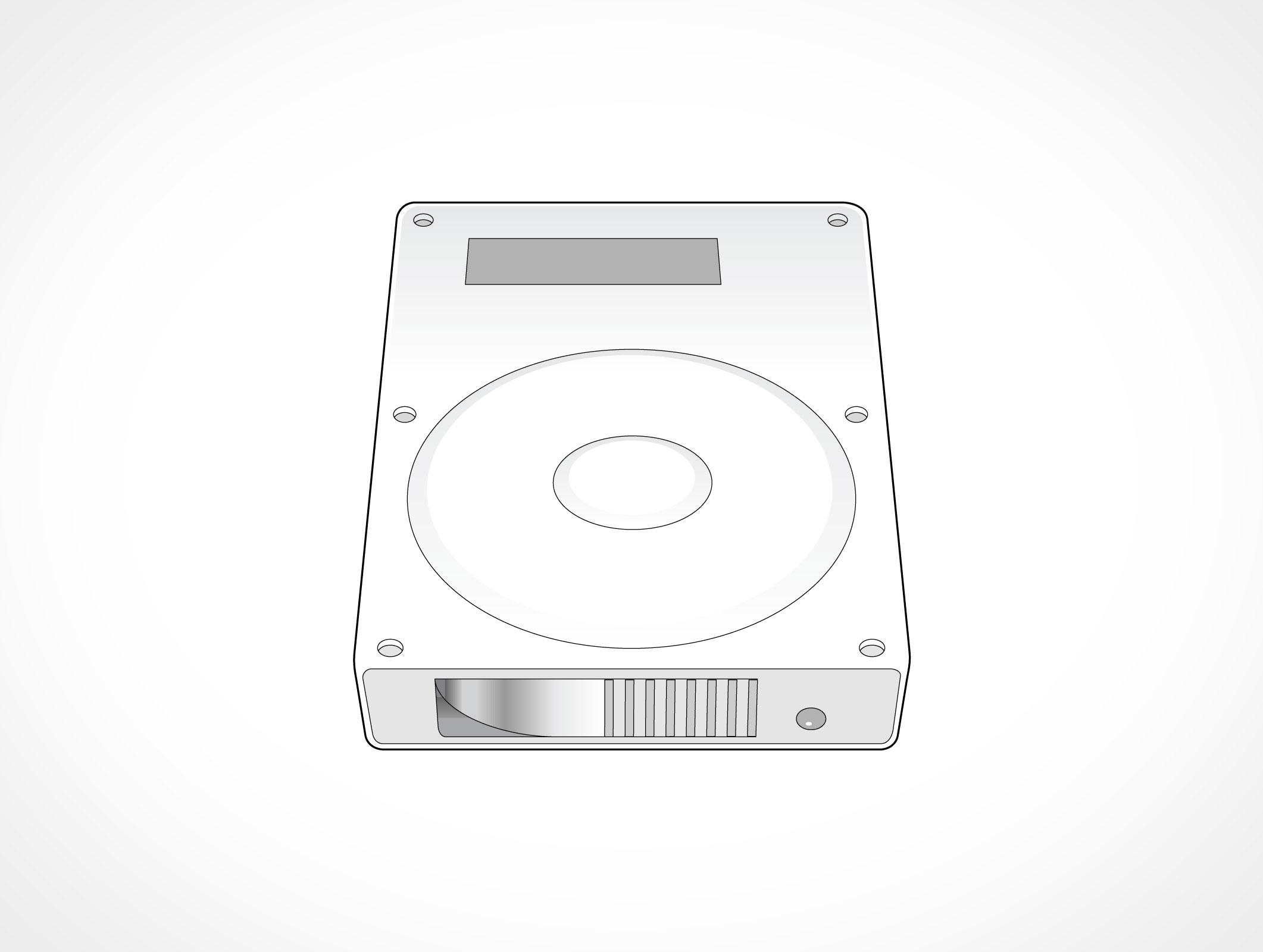 2122x1600 Hard Disk Unit