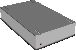 300x198 External Hard Drive Clip Art Free Vector 4vector