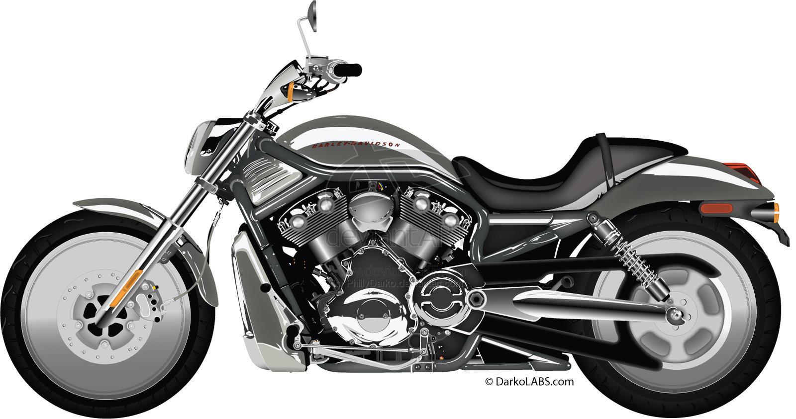 Harley Davidson Vector Art