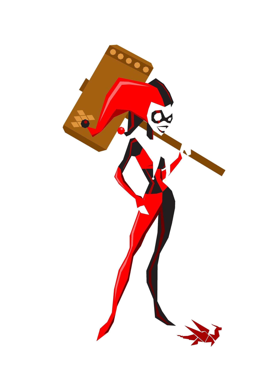 Harley Quinn Vector