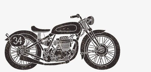 521x249 Harley Davidson, Harley, Motorcycle, Vintage Motorcycle Png And