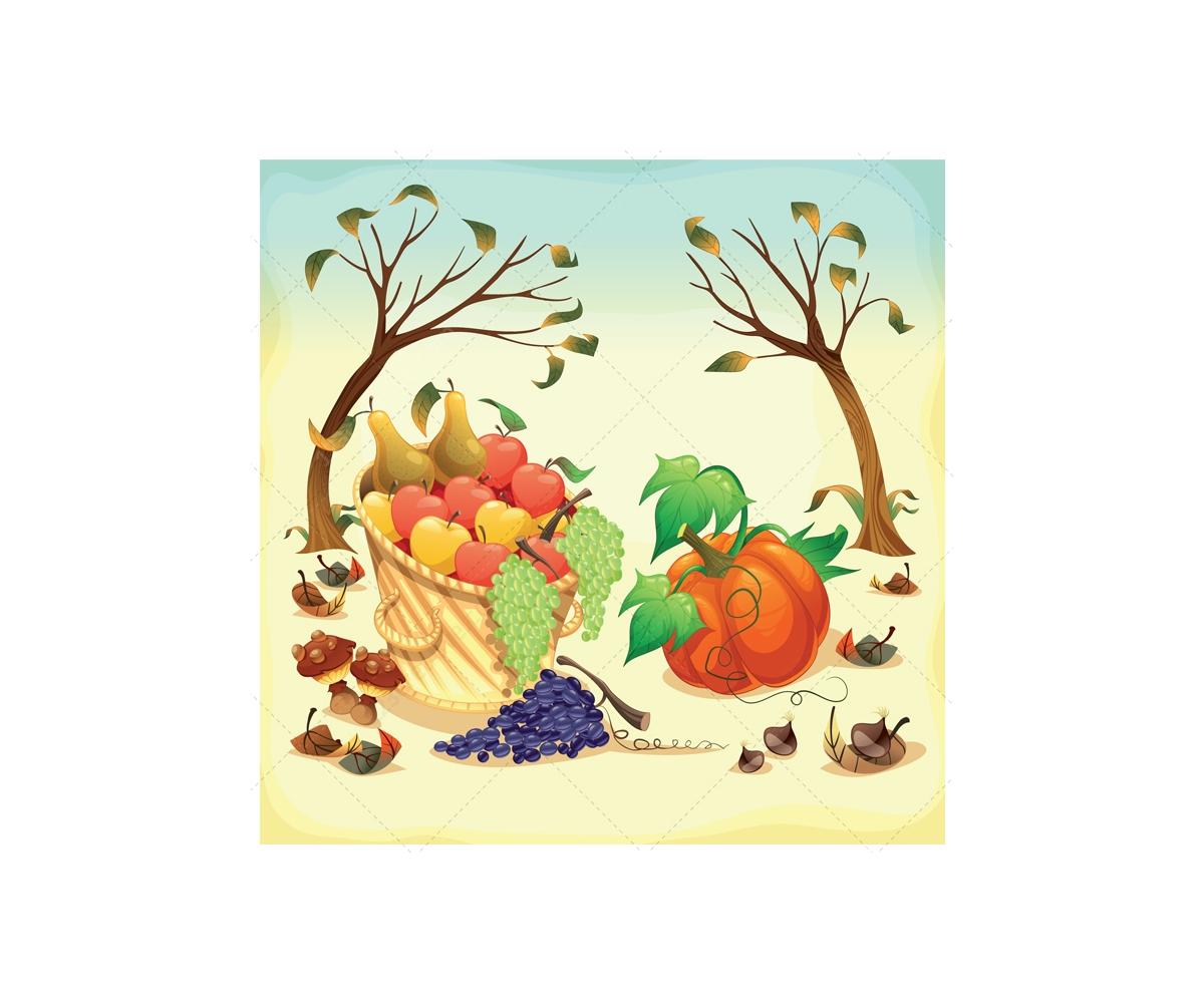 1200x1000 Harvest Illustration And Garden Vectors