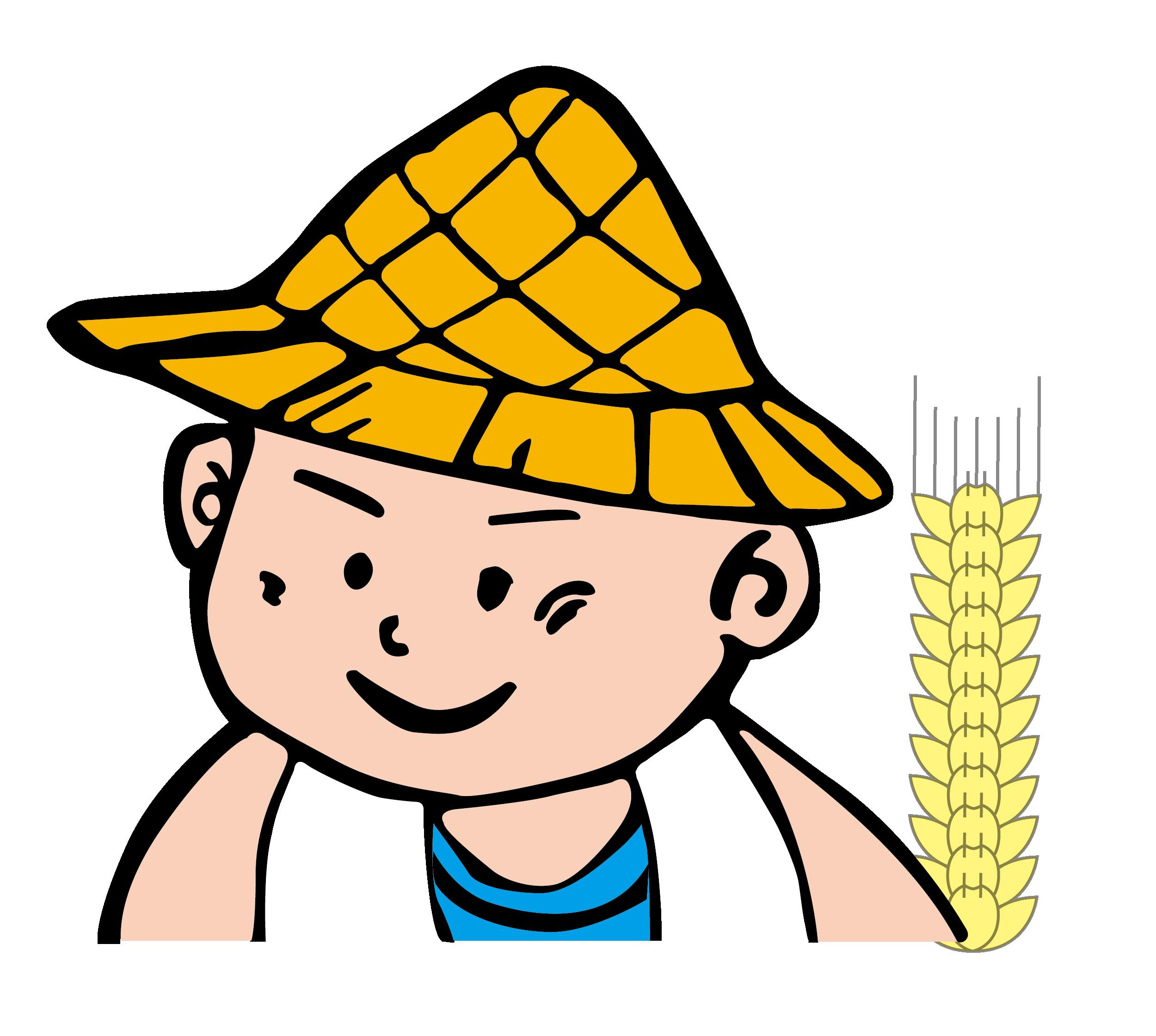 2500x2241 Farmer Cartoon Harvest