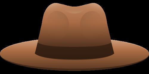500x250 Hat Vector Png Transparent Image