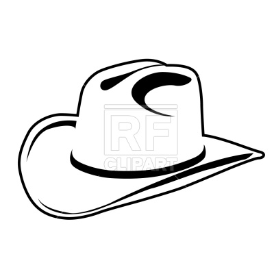400x400 Simple Cowboy Hat Vector Image Vector Artwork Of Beauty, Fashion