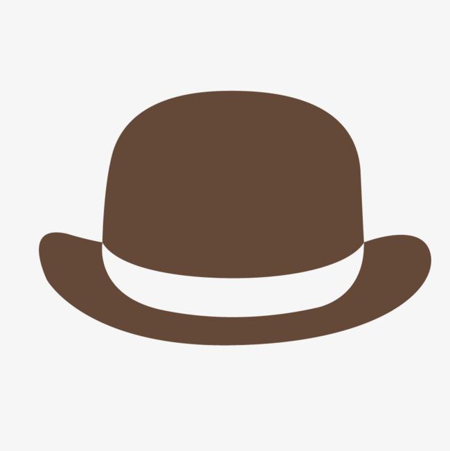 650x651 Vector Gentleman Hat Brown, Hat Vector, Hat, Gentleman Hat Png And