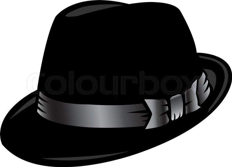 800x574 Vector Illustration Fedora Hat Stock Vector Colourbox
