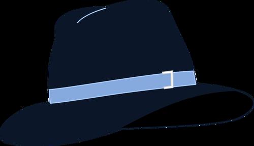 500x287 Fedora Hat Vector Illustration Public Domain Vectors