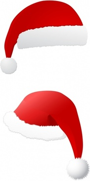 183x368 Vector Christmas Hat Free Vector Download (7,692 Free Vector) For