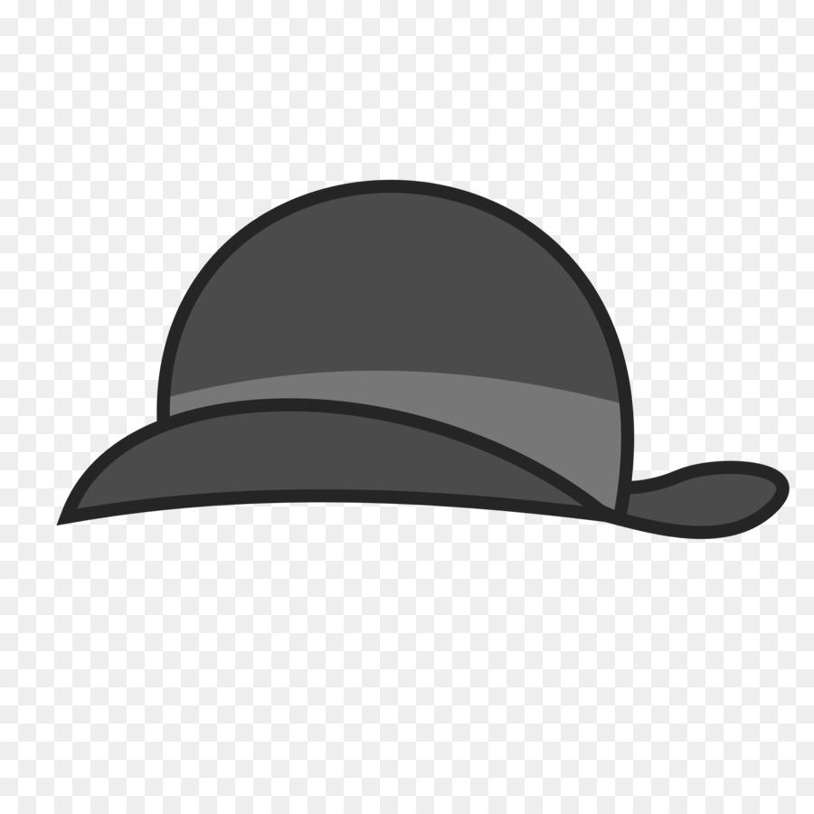 900x900 Bowler Hat Fedora Clip Art