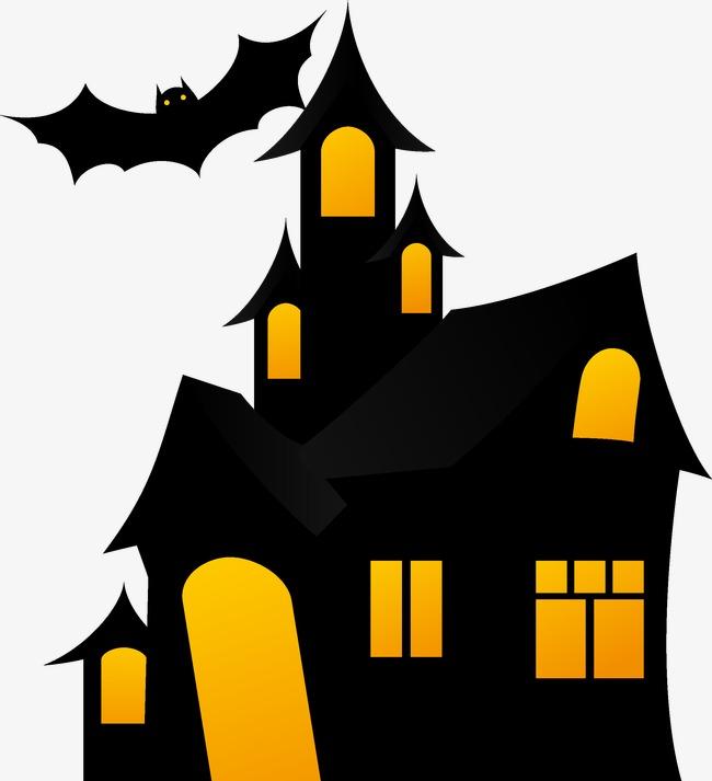650x713 Halloween Haunted House, Halloween Vector, House Vector, Halloween