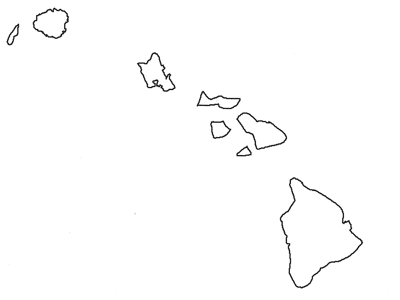 Hawaii Islands Vector At Getdrawings Com Free For Personal Use