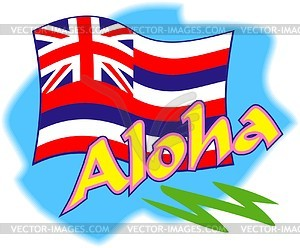 Hawaiian Flag Vector
