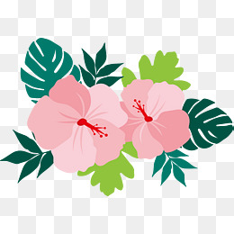 Hawaiian Flower Vector At Getdrawingscom Free For Personal Use