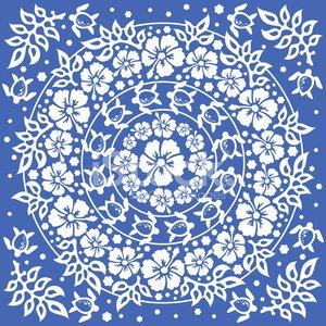 Hawaiian Pattern Vector