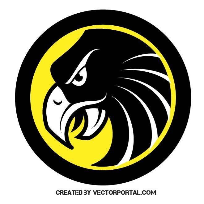 660x660 Hawk Mascot Vector. Animal Vectors