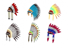 285x200 Indian Headdress Free Vector Graphic Art Free Download (Found