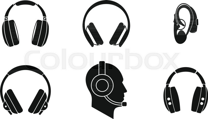 Headphones Vector at GetDrawings com | Free for personal use