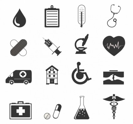 425x396 Healthcare Icons Vector Icon Free Vector Free Download