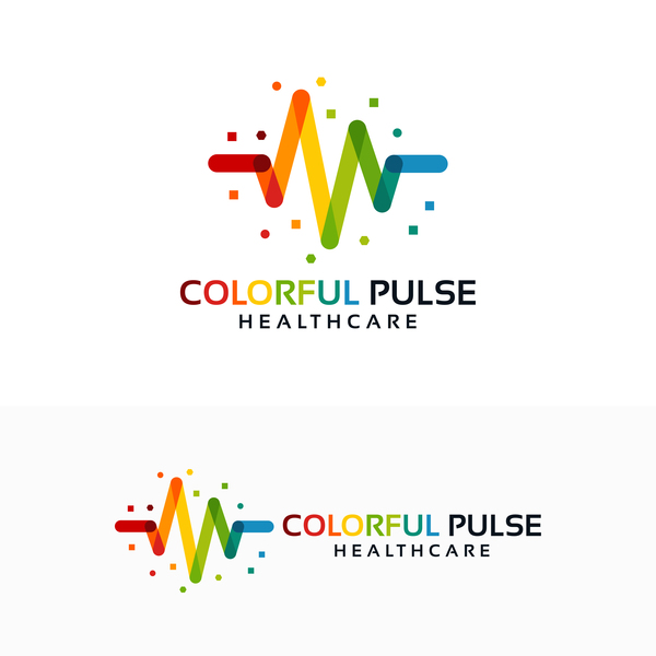 600x600 Colorful Healthcare Logo Vector