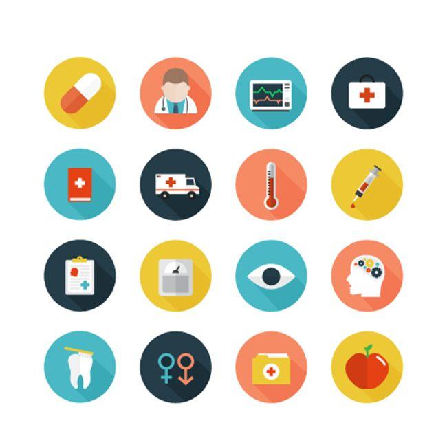 650x650 Free Healthcare Icons Set