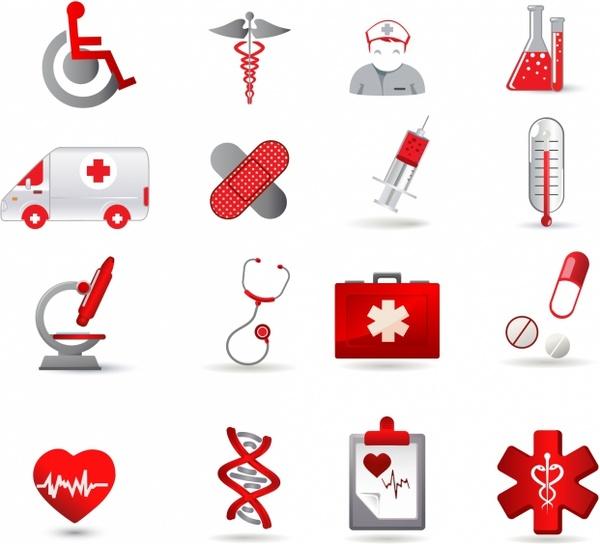 600x544 Health Care Icon Set Free Vector In Adobe Illustrator Ai ( .ai