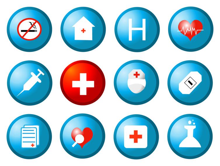 754x570 Health Circular Icon Vector
