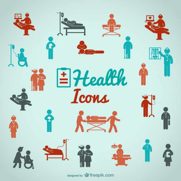 626x626 Health People Icons Vector Free Download
