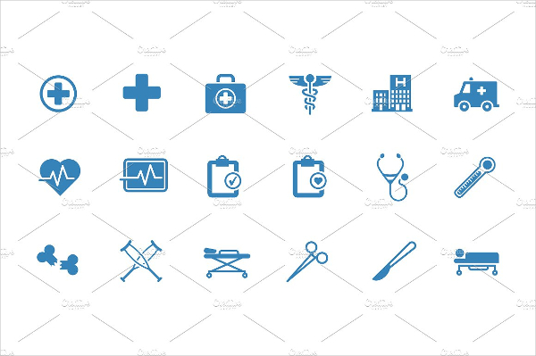 600x399 Medical Icons