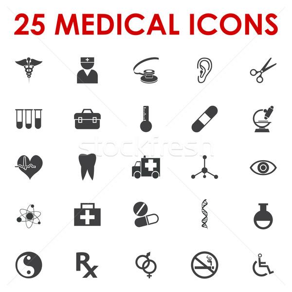 600x600 Healthy Icons Vector Vector Illustration Etty Ozer