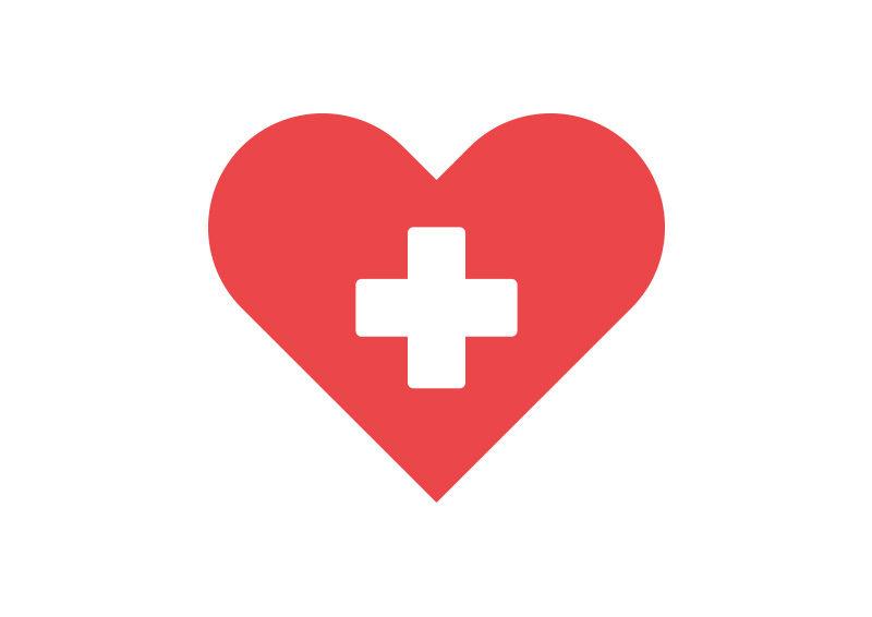 800x566 Health Heart Free Vector Icon