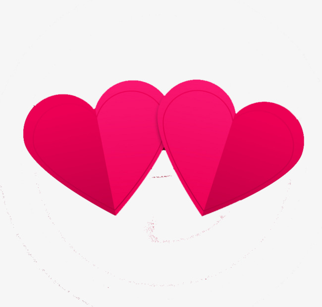 650x620 Double Heart Png, Vectors, Psd, And Clipart For Free Download