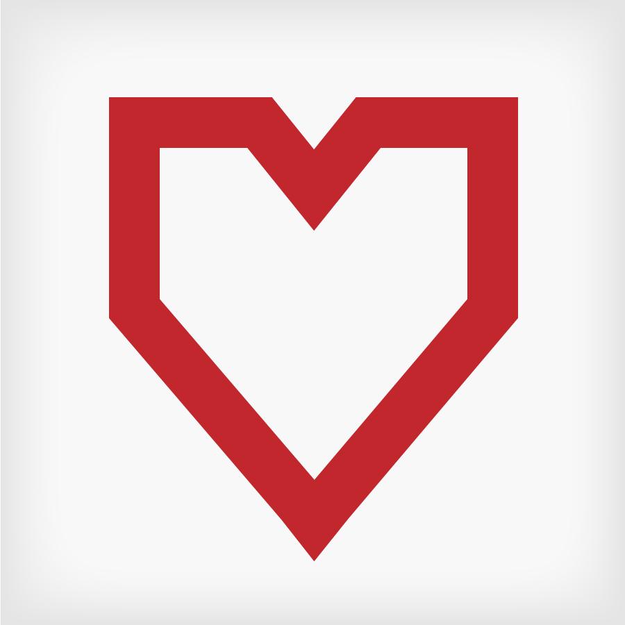 900x900 Square Flat Heart Design Valentines 01