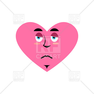 400x400 Heart Sad Emoji Vector Image Vector Artwork Of Icons And Emblems