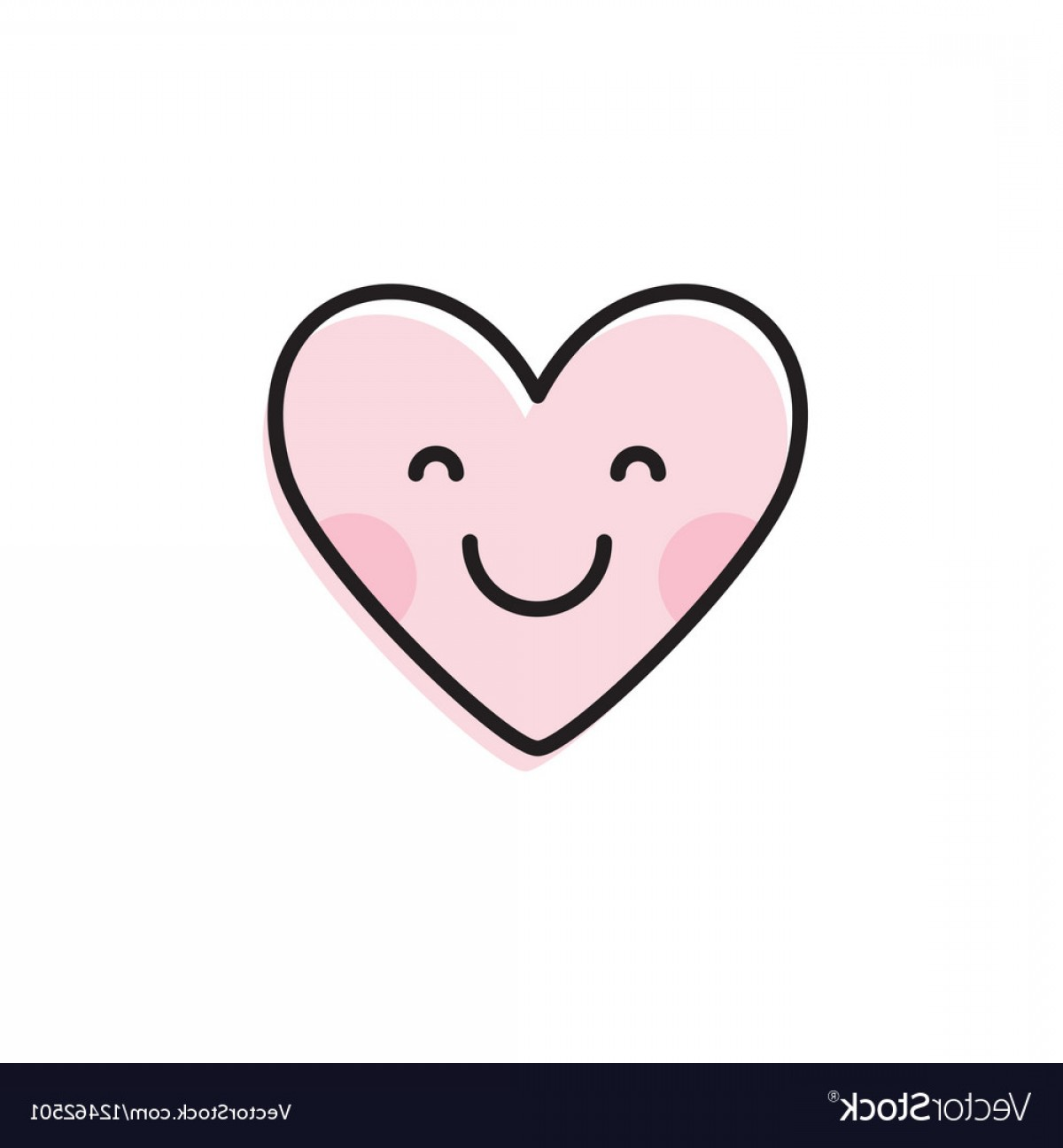 1200x1296 Cute Heart Emoji Smiling Face Icon Vector Arenawp