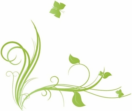 438x368 Vector Heart Flourish Butterfly Free Vector Download (6,581 Free