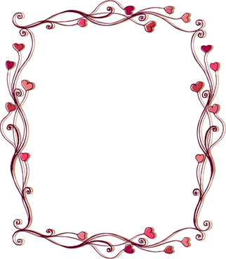 322x368 Heart Frame Free Vector Download (9,840 Free Vector) For